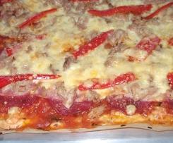 Pizza Thunfisch Salami Schinken
