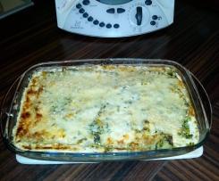 Leichte Cannelloni mit Spinat und Kürbis