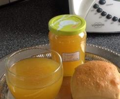 Mango-Birne Marmelade