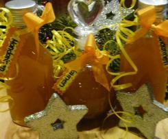 Mandarinen Likör supper für die Weihnachtszeit