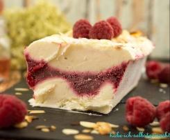 Sauerrahm Himbeer Cheesecake Eis