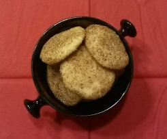 Chai Cookies ~ Gluten--frei ~ vegan