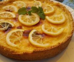 Tarte au Citron Zitronentarte