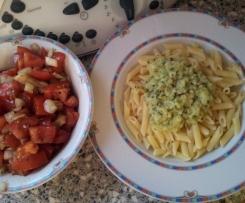 Zucchini-Knoblauch-Soße