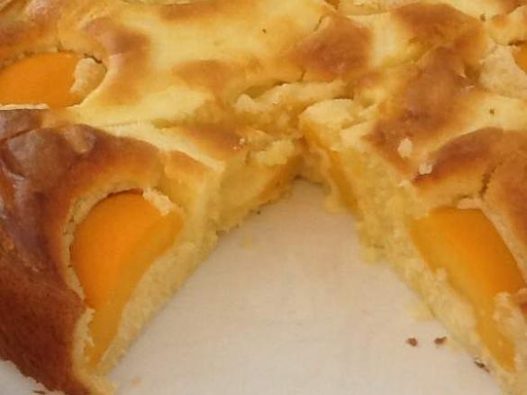 Pfirsich Schmand Kuchen Ruck Zuck Finessen 4 13 Von Allium Ein