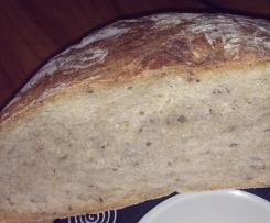 Saftiges Dinkel-Leinsamen Brot