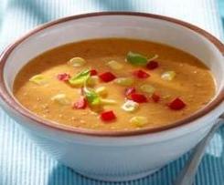 Paprika Mais suppe