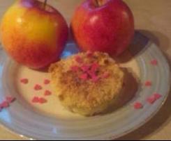 Apfel-Quark-Küchlein