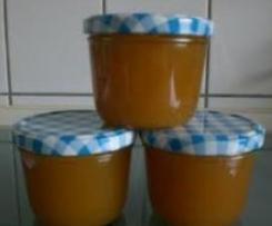 Apfel-Birne-Amaretto Marmelade