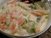 Rahm Gemüse aus Kohlrabi-Möhren-Rosenkohl mit Kartoffel