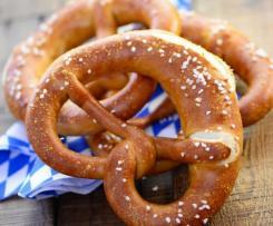 Bayrische Laugenbrezen, glutenfrei