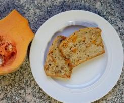 Haselnuss-Kürbiskuchen