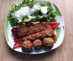 gefüllte Paprika und Champignons HCG geeignet