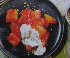 Süße Kürbis-Nachspeise (orientalisch)