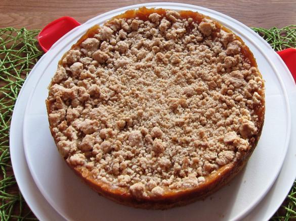 Turbo Apfelkuchen Mit Pudding Zimtstreusel Der Beste Von