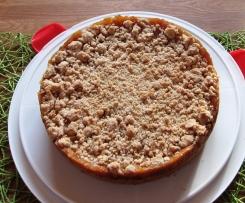 Turbo Apfelkuchen mit Pudding & Zimtstreusel! Der BESTE!