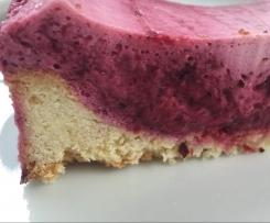 Sommerfrische Joghurt-Beeren-Torte