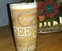 Chai-Eiskaffee ohne Zucker, vegan & gesund