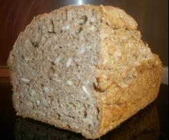 Brot aus Dinkel- oder Weizenvollkornmehl