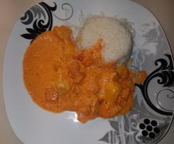 Paprika-Sahne Hähnchen