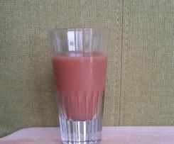 Ingwer-Shot mit Dosenbirnen und Kakao