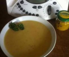 Kartoffel-Gemüse-Creme-Süppchen