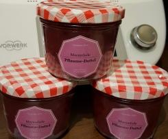 Pflaumen-Dattel-Marmelade