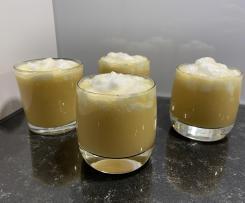 Apfelsaftpudding