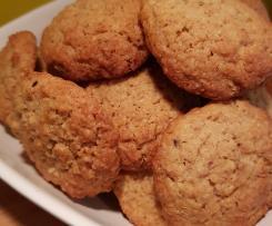 Hafer-Nuss-Kekse