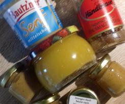 """Orangen-Senf-Sauce nach """"Hans im Glück"""""""
