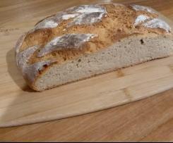 Roggen-Brot mit Joghurt