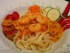 Pasta Scampi / Nudeln mit Garnelen