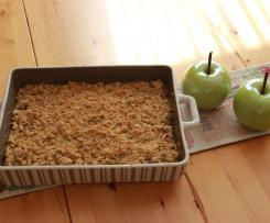 APFEL CRUMBLE - NUSSFREI ohne Milch