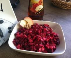 Fruchtiger Rote Beete Apfel Salat