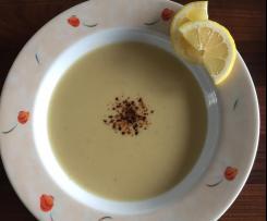 Rote-Linsen-Suppe mit Milch / Sütlü Mercimek Çorbası
