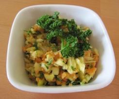 Salat Suppengrün - Rohkostsalat