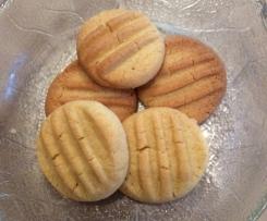 Pudding-Plätzchen, Vanille-Plätzchen