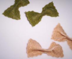 """Variation von Dinkel-Vollkorn Nudeln """"spinaci"""""""