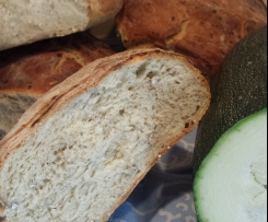 Brot mit Zucchini