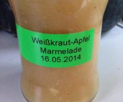 Weißkraut-Apfel-Marmelade