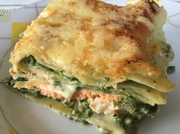 lachs spinat lasagne von isus 2015 ein thermomix rezept aus der kategorie hauptgerichte mit. Black Bedroom Furniture Sets. Home Design Ideas