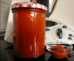 Grillsoße / Ketchup / roter Dip