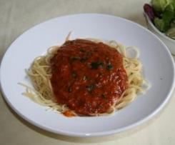 ww  leckere pikante Tomatensoße für 1 Point