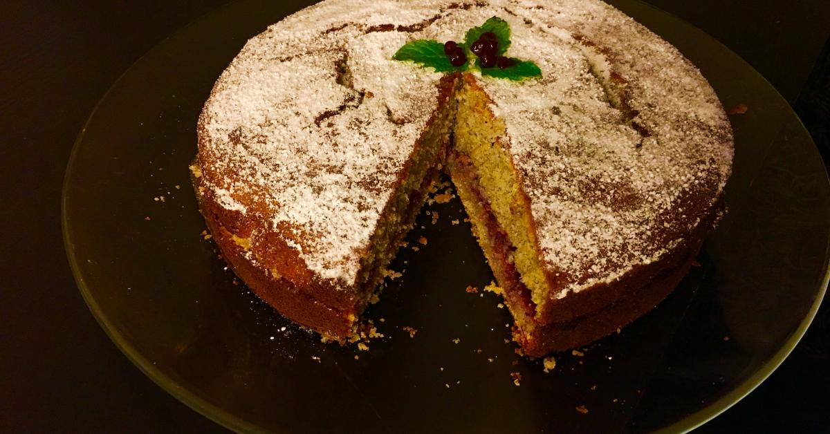 Buchweizenkuchen Schwarzpolentatorte Von Wunderwerkdertechnik Ein