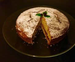 Buchweizenkuchen (Schwarzpolentatorte)