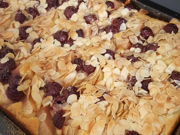 Apfel Kirsch Blechkuchen Von Tetzer Mami Ein Thermomix Rezept Aus