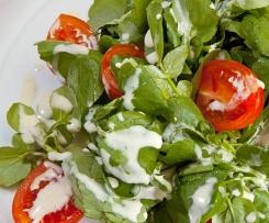 Weißbierdressing zu Blattsalaten