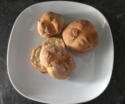 Schnelle Frühstücksbrötchen