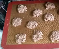 Gesunde Kekse Haferflocken schoki
