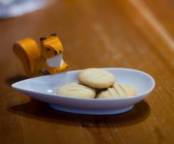 Vanille-Plätzchen (ohne Ei)